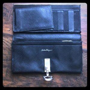 Salvatore Ferragamo Wallet - Black
